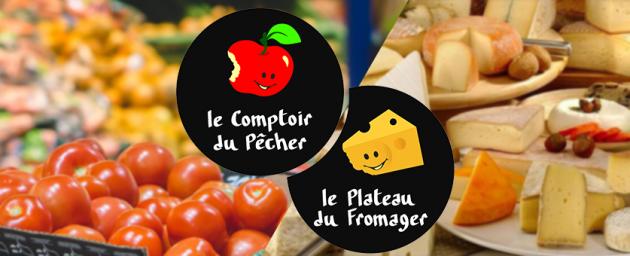 COMMERCE DE PROXIMITÉ : Le plateau du fromager