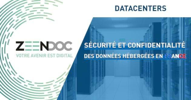 Datacenters : Sécurité et confidentialité des données hébergées en France